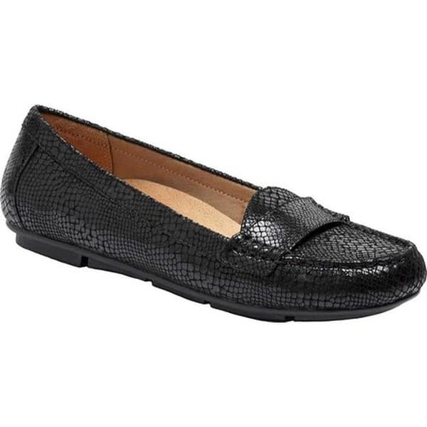 de5300b8496 Shop Vionic Women s Larrun Loafer Black Snake - Free Shipping Today ...