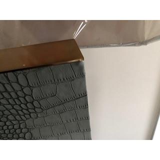 "Safavieh Lighting 27.75-inch Joyce Faux Alligator Grey Table Lamp (Set of 2) - 18"" x 8 "" x 27.75"""