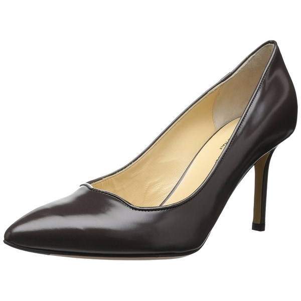 Marvin K Womens Carrie Leather Pointed Toe Classic Pumps - 9.5
