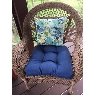 Shop Blazing Needles 19 Inch Indoor Outdoor Chair Cushion Set Of 4