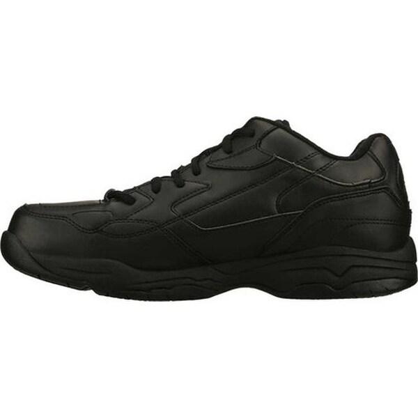 Skechers for Work Men's Felton Shoe, Black, 8 M US