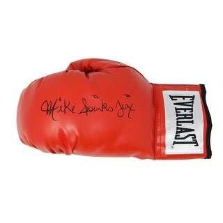 Michael Mike Spinks Everlast Red Boxing Glove WJinx