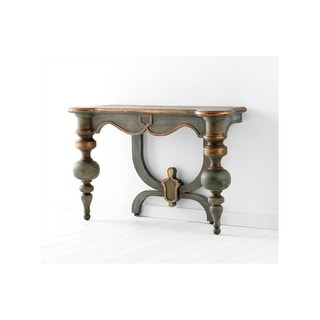 Cyan Design 05695  Lacroix Console Table - Antiquarian Blue