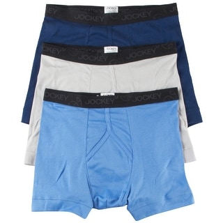 Jockey Men's Underwear Staycool Boxer Brief - 3 Pack, 8802