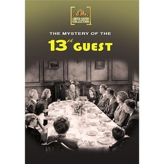 Mystery Of The 13th Guest DVD Movie 1943