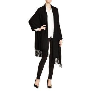 Magaschoni Womens Shawl/Wrap Cashmere Fringe - o/s