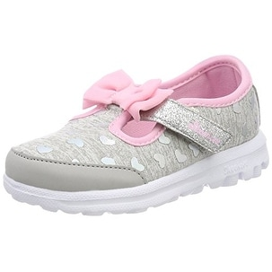 14c107595eedc Shop Skechers Kids Baby Girl's Go Walk - Bitty Heart 81162N Gray/Pink -  Free Shipping Today - Overstock - 20999674