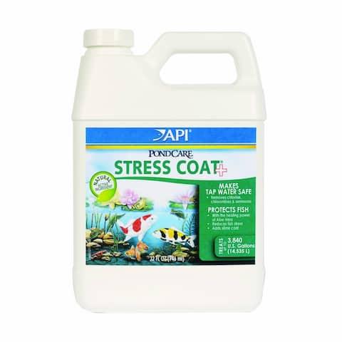 API 140G PondCare Stress Coat Pond Water Conditioner, 32 Oz