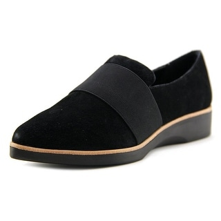 Steven Steve Madden Aidan Women Pointed Toe Suede Loafer