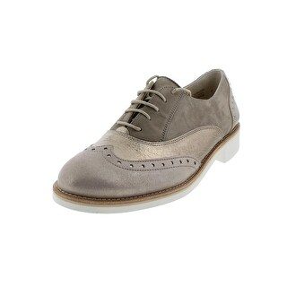 Paul Green Womens Jayne Oxfords Metallic Casual - 9.5 medium (b,m)