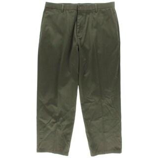 Dockers Mens D4 Signature Khaki Wrinkle Free Flat Front Khaki Pants - 36/30