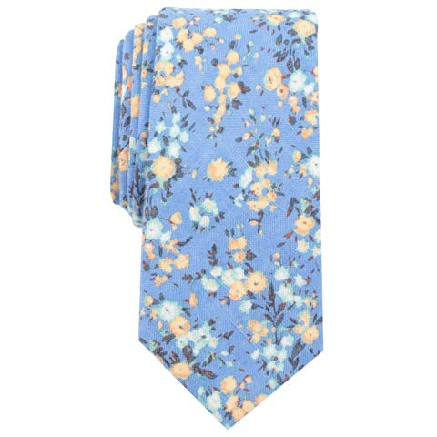 Bar Iii Mens Medgar Floral Self-Tied Bow Tie - One Size