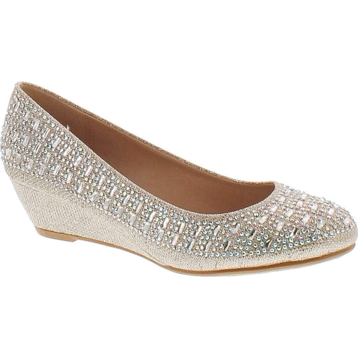 Wedge Heel Dress Shoes