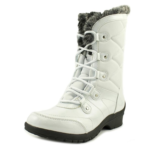 Khombu Avon Women White Snow Boots