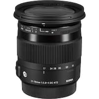 Sigma 17-70mm f/2.8-4 DC Macro OS HSM Lens for Canon (Open Box)