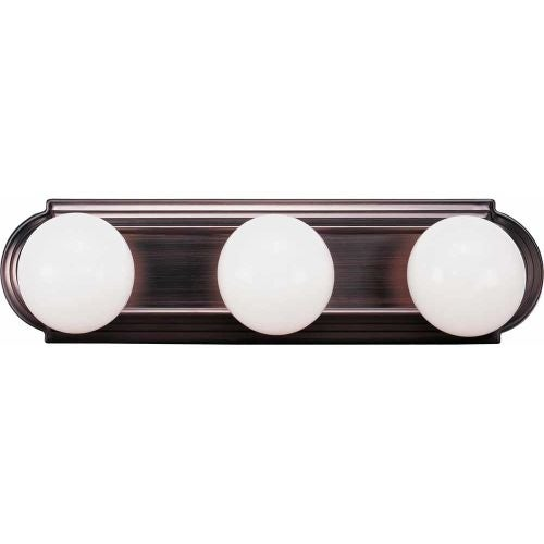 "Volume Lighting V1123 18"" Width 3 Light Bathroom Vanity Strip"