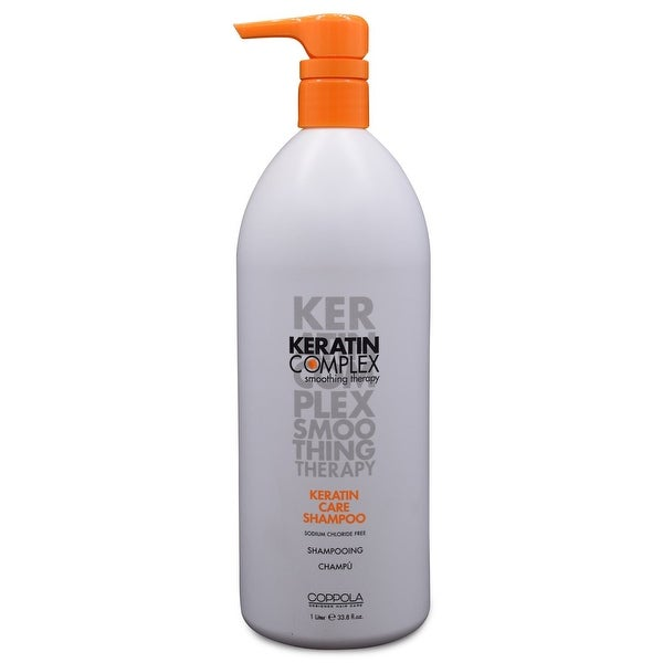 Keratin Complex - Care Shampoo - 33.8 Oz O