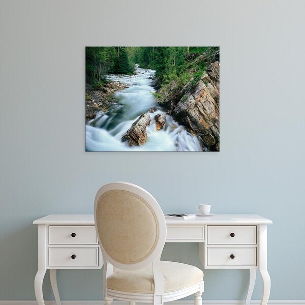 Easy Art Prints Adam Jones's 'Crystal River' Premium Canvas Art