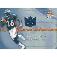 Tatum Bell Player Worn Jersey Patch Football Card - Denver Broncos