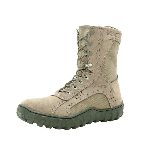 "Rocky Tactical Boots Mens 8 1/2"" S2V Sage Green"