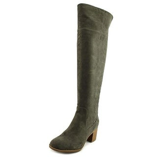 Indigo Rd. Oneal Women Round Toe Synthetic Gray Knee High Boot - 10
