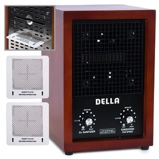 Della Ionic Air Purifier Ozone Ionizer Cleaner Fresh Clean Living Home Office Room