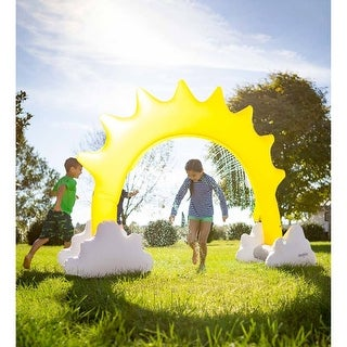 "Link to 93-inch x 67-inch Inflatable Sunshine Sprinkler - 93"" x 67"" Similar Items in Outdoor Play"