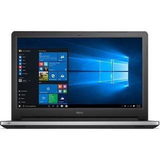 Dell Inspiron 15 I5559-8015SLV Notebook PC - Intel Core i7-6500U (Refurbished)