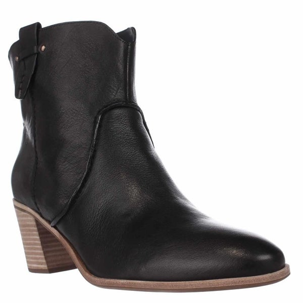 G.H. Bass & Co. Sophia Western Ankle Booties, Black