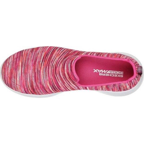 skechers go walk joy pink multi