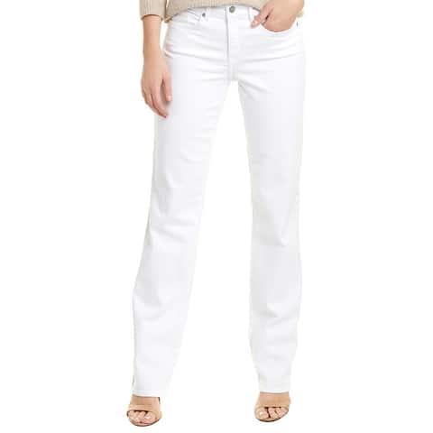 Nydj Marilyn White Straight Leg