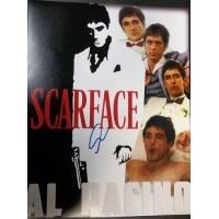 Signed Pacino Al Scarface 11x14 Photo autographed