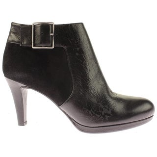 Naturalizer Womens Maureen Ankle Boots Leather Buckle