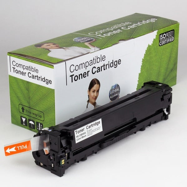 Value Brand replacement for HP 125A Black Toner CB540A (2,200 Yield)