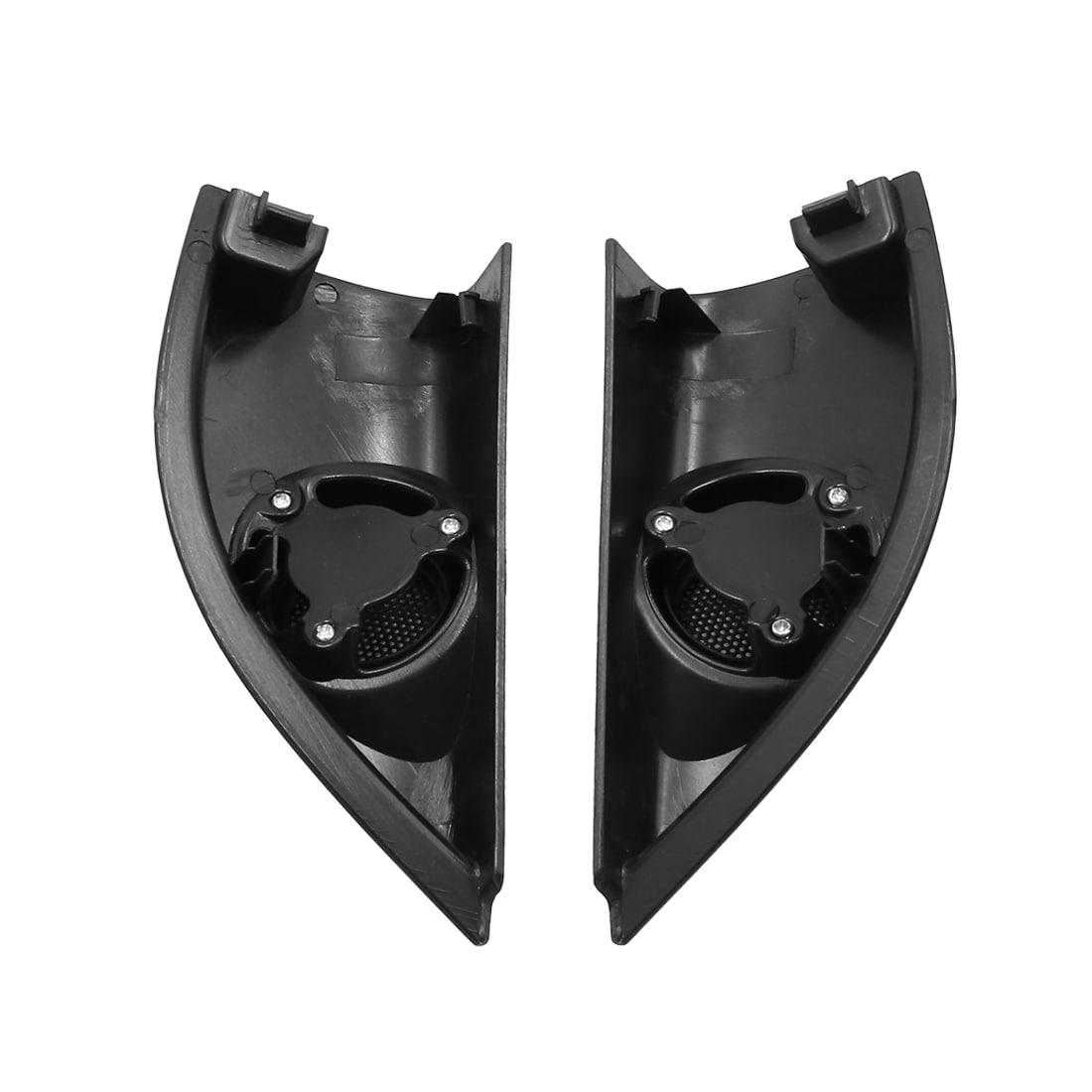 uxcell Pair Black Car Speaker Trim Cover Tweeter Protector for Honda CRV 2012-2016