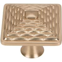 "Atlas Homewares 237 Mandalay 1-1/4"" Square Cabinet Knob"