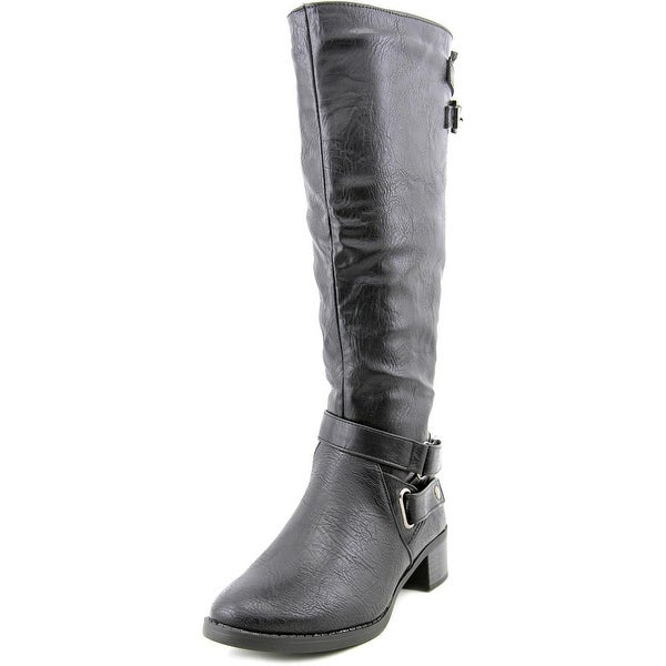 Easy Street Mesa Plus Wide Calf Round Toe Synthetic Knee High Boot