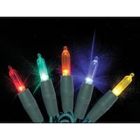 Celebrations 7001088S-02AC Mini LED Light String, Multicolored , 25.5'