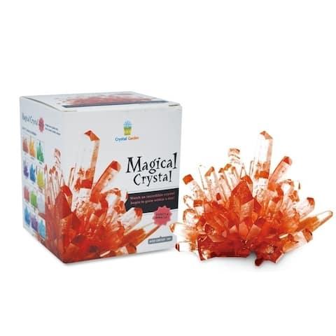 Magical Crystal Amethyst Ruby Red