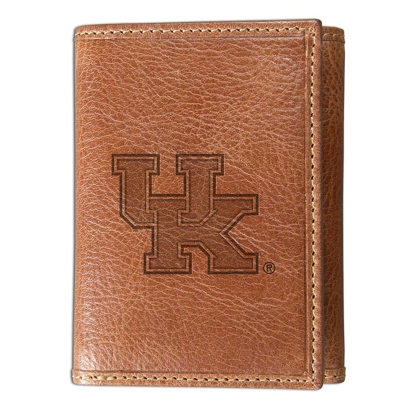 Zokee University of Kentucky Leather ID Holder