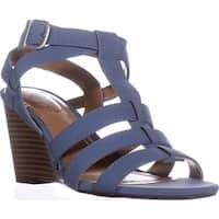 SC35 Haydar Wedge Sandals, Vintage Jeans