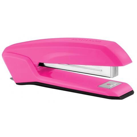 Bostitch Ascend Plastic Stapler, Pink Heart