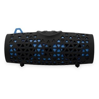 """iLive Floating Shock, Sand and Waterproof Bluetooth Speaker -Blue/Black Bluetooth Wireless Speaker"""