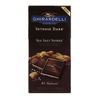 Ghirardelli - Intense Dark Sea Salt Soiree ( 12 - 3.5 OZ)