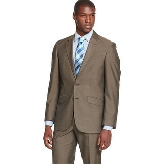 Unlisted By Kenneth Cole Brown Sharkskin Sportcoat 40 Short 40S