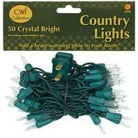 Light Set, Green Cord, 50ct