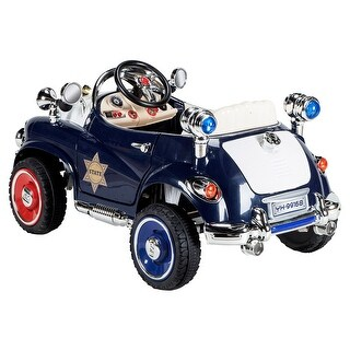 Gymax 12V Battery Powered Classic RC Remote control Kids Ride On Car w/Opening Doors