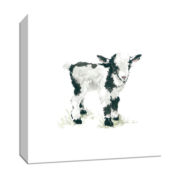 """PTM Images 9-147432 PTM Canvas Collection 12"""" x 12"""" - """"Baby Goat"""" Giclee Farm Animals Art Print on Canvas"""