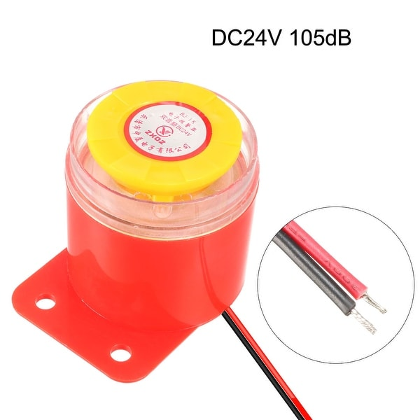 2x High Decibel Alarm Buzzer DC 6-24V Continuous Ringing Sound Electronic Buzzer