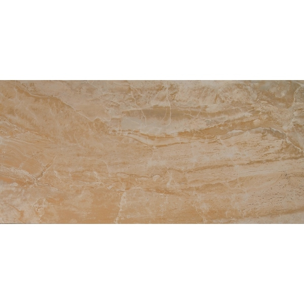 """MSI NONY1632 Onyx - 32"""" x 16"""" Rectangle Floor Tile - Matte Visual - Sold by Carton (10.668 SF/Carton) - Sand"""